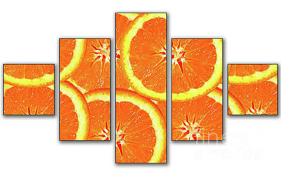 Orange Slices by Cecil Fuselier