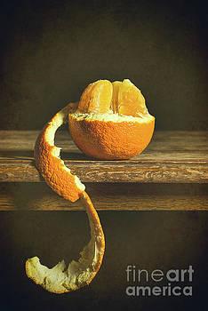 Orange Still Life by Amanda Elwell