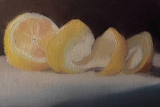 Orange Stilllife  by Michele Carter