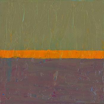 Michelle Calkins - Orange Stripe with Grey