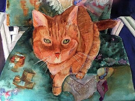 Orange Tabby by Lynne Atwood