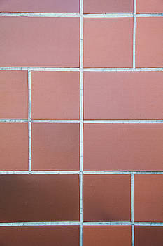 Orange tile patern by Vladimir Jovanovic