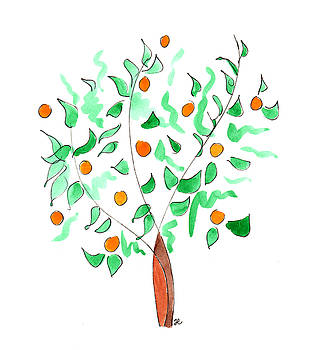 Anna Elkins - Orange Tree