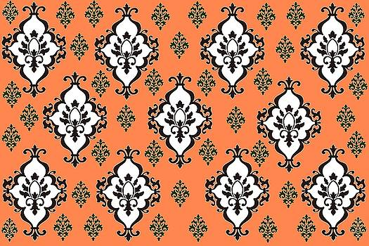 Orange Villa by Nelma Grace Higgins