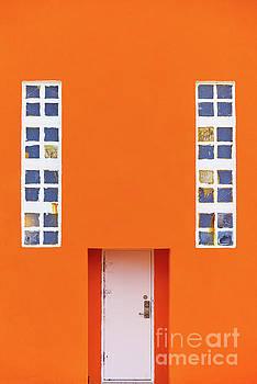 Svetlana Sewell - Orange Wall