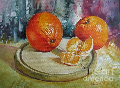 Oranges by Elena Oleniuc