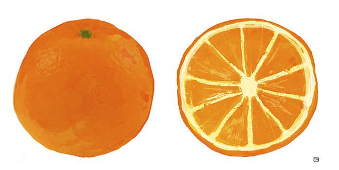 Oranges by Lisa Weedn