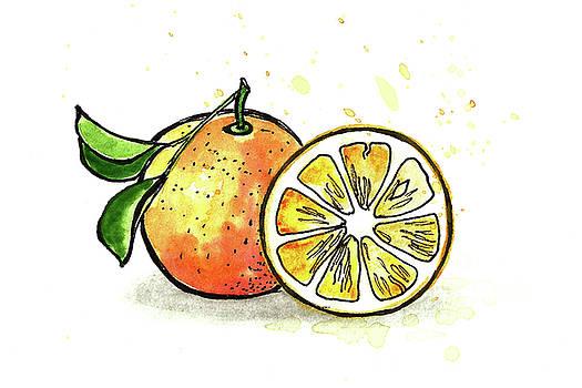 Oranges by Masha Batkova