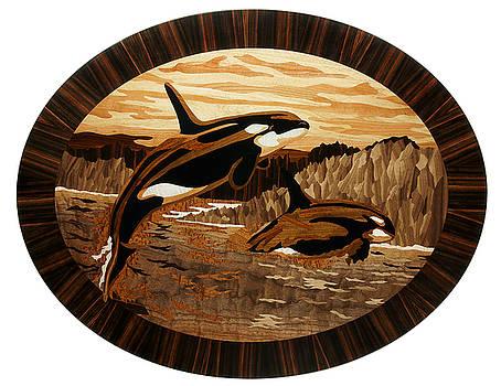 Orcas by Grzegorz Czarncki