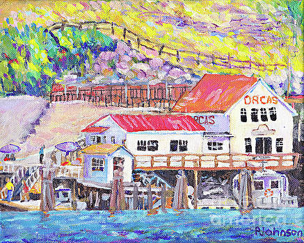 Orcas Island Welcome by Peggy Johnson by Peggy Johnson