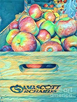 Orchard Harvest - Apples by Miriam Danar