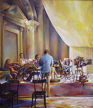 Orchestra Rehearsal by Luigi Boriotti