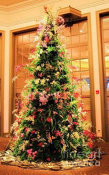 Jill Lang - Orchid Christmas Tree