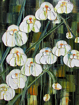 Orchid Dance by Diane Dean