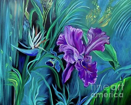 Orchid Jungle by Jenny Lee