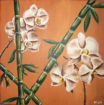 Orchids and Bamboo by Ashley Warbritton