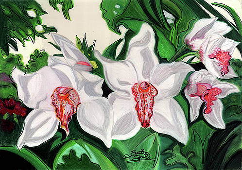 Orchids by Everett Spruill