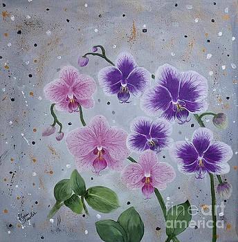 Orchids Galore by Alicia Fowler