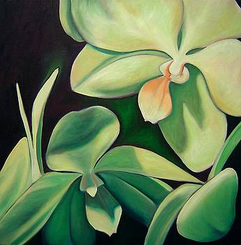 Orchids by Gayle Bell
