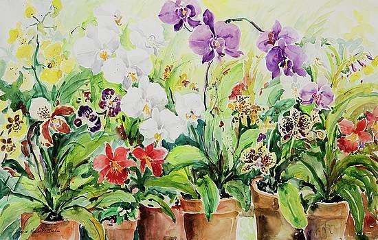 Watercolor Series No. 259 by Ingrid Dohm