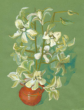 Orchid Bouquet by Laura Wilson