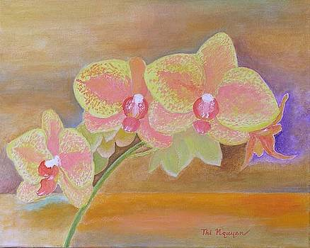 Orchids No 9 by Thi Nguyen