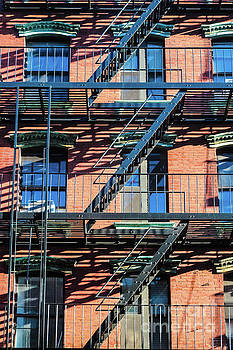 Orchrd St Fire Escape by Thomas Marchessault