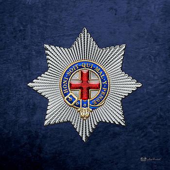 Serge Averbukh - Order of the Garter Star on Blue