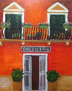 Oreficeria by Tina Mostov