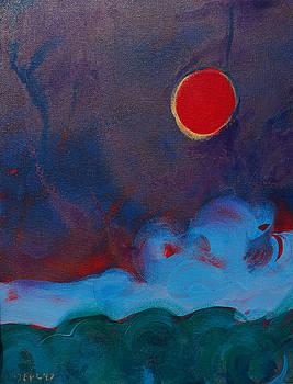 Oregon Coast Eclipse by Pam Van Londen