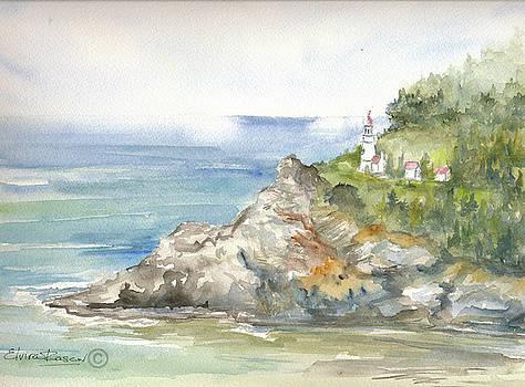 Oregon Coast by Elvira Rascov