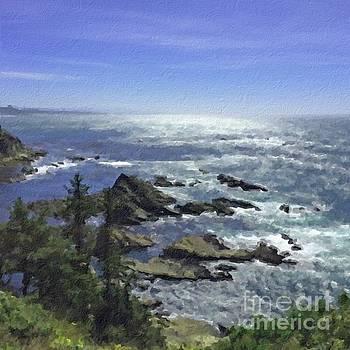 Oregon Coast by Joseph J Stevens