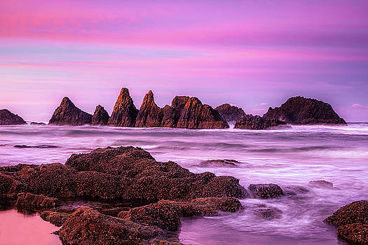 Oregon Dawn by Andrew Soundarajan