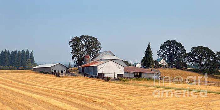 Oregon Farm by Catherine Sherman