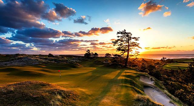 Oregon Golf by David Norman