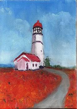 Oregon Lighthouse by Bernard Victor