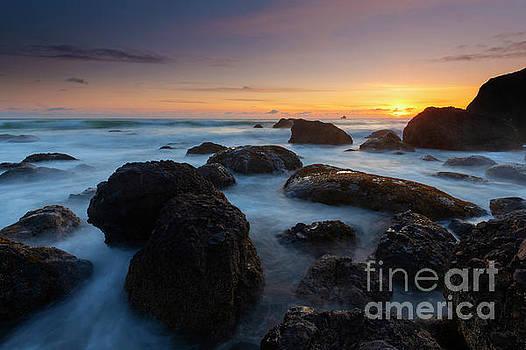 Oregon Sunset Boil by Mike Dawson