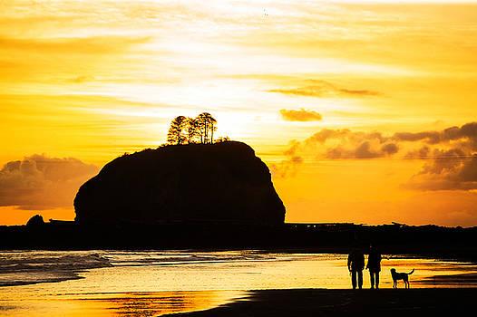 Oregon Sunset by Greg Grupenhof