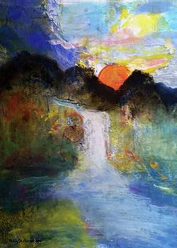 Oregon Waterfall 1 by Penny OHalloran