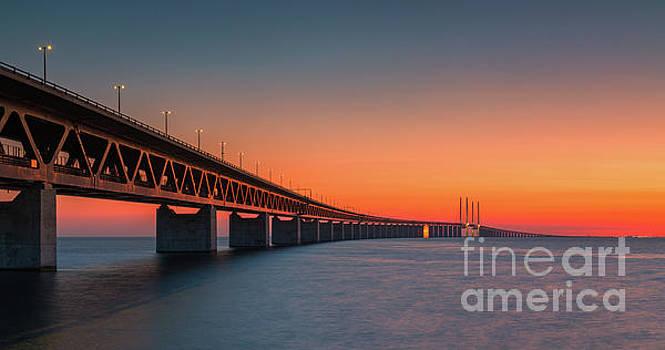 Oresund Bridge, Malmo, Sweden by Henk Meijer Photography