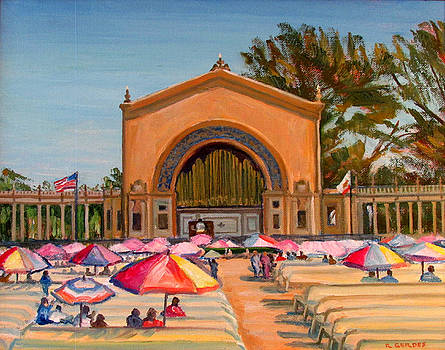 Organ Concert Balboa Park by Robert Gerdes