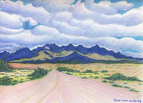 Organ Mountains by Harriet Emerson