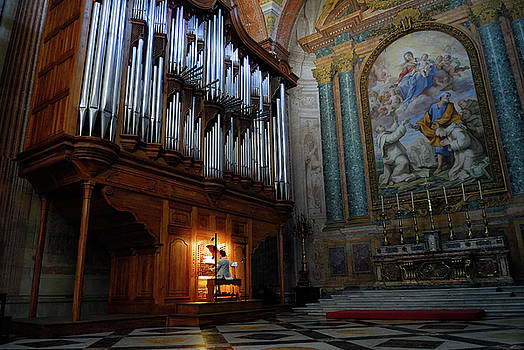 Reimar Gaertner - Organ player in Saint Mary of the Angels basilica Rome