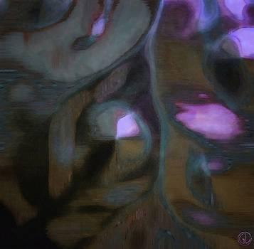 Organic abstract by Gun Legler