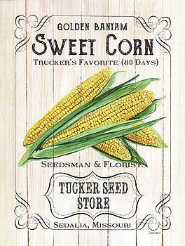 Organic Seed Packet 4 by Debbie DeWitt