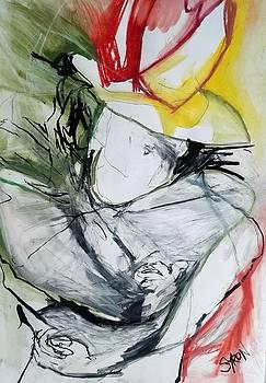 Organza Collar by Helen Syron