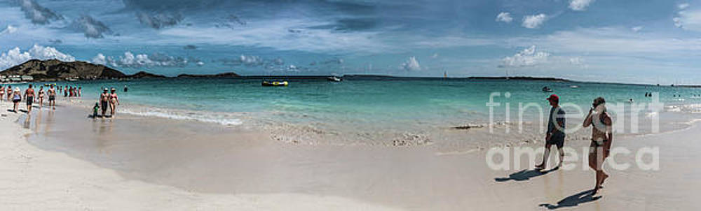 Orient Beach, St Martin Panorama by Thomas Marchessault