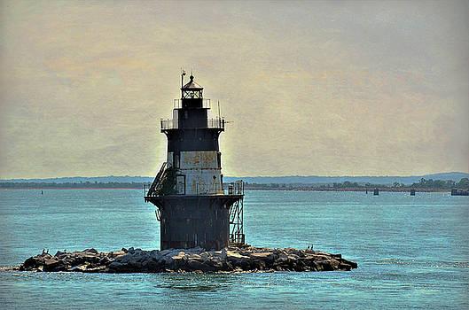 Orient Point Light by Linda C Johnson