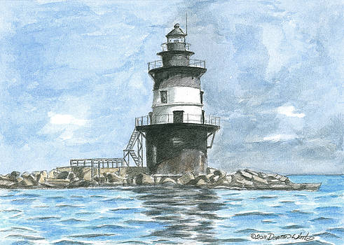 Orient Point Lighthouse by Dominic White