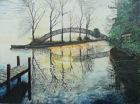 Oriental Bridge by Dan Hausel